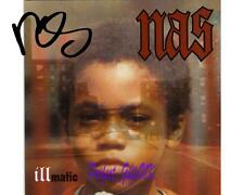 Nas - Illmatic SIGNED AUTOGRAPHED 10X8 PRE-PRINT PHOTO