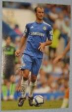 Ricardo Carvalho signed photo (Chelsea, Real Madrid, Portugal)