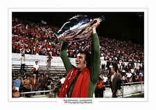 1977 EUROPEAN CUP RAY CLEMENCE LIVERPOOL PHOTO A4 PRINT PHOTO