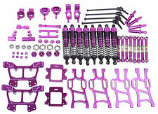 Upgrade Parts Package For HSP RC 1/10 Off-Road Monster Truck Purple Aluminum