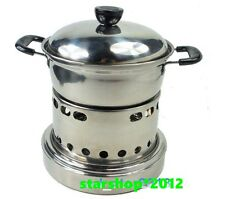 Outdoor Solid Alcohol Burner Camp Cook Stove for Far Way Hunting Hiking Camping