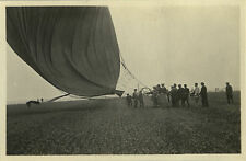 PHOTO ANCIENNE - VINTAGE SNAPSHOT - MONTGOLFIÈRE AVIATION - HOT AIR BALLOON 1