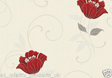 Grandeco Wall Fashion, Floral Patterned Feature Wallpaper, BN CF-88102-N053