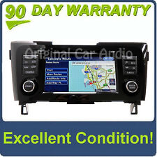14-15 Nissan Rogue X-Trail Radio Navigation AUX MP3 CD Player 25915-4BA0A