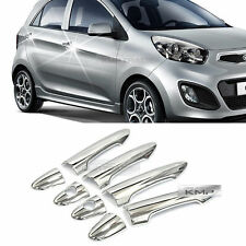 Chrome Door Catch Handle Molding Cover Garnish for KIA 2011-2017 Picanto Morning