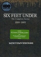 SIX FEET UNDER:Complete Serie 5 Seasons (24 DVD) 63 Episodes.Christmas Gift Idea