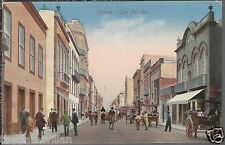 Triana Las Palmas  carts 1900's?? Unposted Postcard