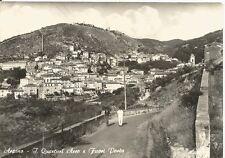 200078 FROSINONE ARPINO Quartieri ARCO e FUORI PORTA Cartolina FOTOG. viagg 1963