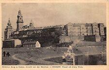 BT1905 Krakau krakow wawel od strony wisty  poland