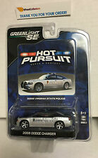 Greenlight * 2008 Dodge Charger * VIRGINIA Police * HOT PURSUIT 2 * Y43