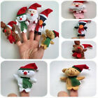 New 5 X Cute Fashion Baby Kids Learn Story Animal Finger Puppets Hand Toy Set
