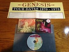 GENESIS - AWED MAN OUT 1999 1PR LTD ED 2000 HAND-NUMBERED CD W/POSTER MINT!