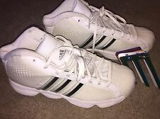 New Adidas Pro Model Basketball Shoes 7 Women's Court Interchangeable Stripes