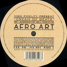HIGH FIDELITY - Cream Of Beats - Afro Art