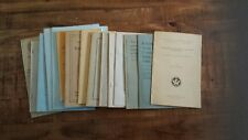 Total of 15 Stock Vintage Paper Publications on Geology/All Between 1916 & 1969