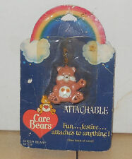 1984 American Greetings CARE BEARS Friendship Bear Attachable Vintage 80's NRFP