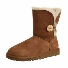 UGG Australia Womens Bailey Button Boots 5803 Twinface Sheepskin
