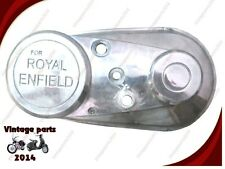 BRAND NEW ROYAL ENFIELD 5 SPEED CHAIN COVER OUTER POLISH