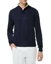 Nouveau homme marwin sweater navy pull homme taille xl rrp £ 90 box7457 t