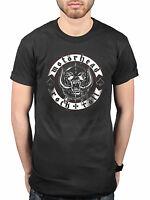 Official Motorhead Biker Badge T-Shirt Bomber Ace of Spades Punk Pig Lemmy Metal