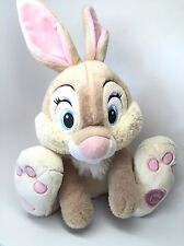 Disney Store MISS BUNNY Plush Stuffed BAMBI Thumper's Girlfriend Rabbit