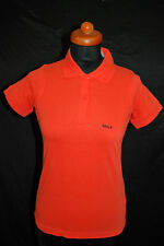 "B&C for Women NEU Gr S Polo Shirt Golf ""GOLF"" Snake Print Top Orange 59,- D-1983"