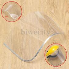 Clear Flip Up Face Mask Shield Screen Spare Visor For Safety Protector Head Mask
