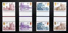GB 1997 Castles (4) on Enschede  in Vertical Gutter Pairs U/M SALE PRICE FP3786