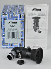Nikon DR-3 Right Angle Finder DR3 for Nikon F film cameras   EXCELLENT