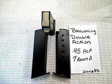 1 Browning Double Action .45 Acp 7 rd Mag Magazine (inv#85)