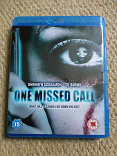 ONE MISSED CALLED - BLU RAY