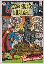 L1306: World's Finest #187, Vol 1, F-VF Condition