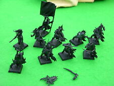 Warhammer Dark Elf, Black Ark Corsarios X10, undercoated