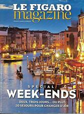 LE FIGARO MAGAZINE N°22135 9 OCTOBRE 2015  SPECIAL WEEK-ENDS/ SCIENCES PO/ LUTTE