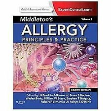 NEW - Middleton's Allergy: Principles and Practice, Vol. 1