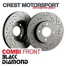 NISSAN 350 Z 3.5 V6 24v (Z33) 02- BLACK DIAMOND Combi Front Brake Discs