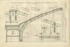 1887 Open Hearth Steel Plant Paris Exhibition Roof Machinery Hall