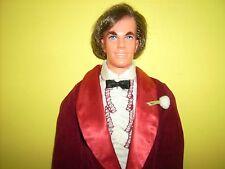 Vtg Mod Hair Ken #4224 w Night Scene #1496 doll 1972 Long Hair Ken Mod Barbie
