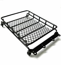 TD10060 RC 1/10 Monster Truck Body Shell Cover Roof Rack Black x 1 Luggage Tray