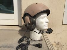 French Made ELNO Combat Armor Vehicle Crewman Helmet with Electornics
