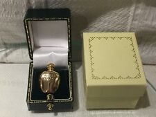 NEW DIOR PERFUME BOTTLE SHAPED BROOCH PIN Gold Plated TENDRE POISON NO PERFUME.