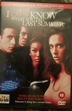 I STILL KNOW WHAT YOU DID LAST SUMMER DVD HORROR RATED 18