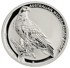2017-P Australia $1 1 oz. Silver Wedge Tailed Eagle Original Mint Cap SKU44908