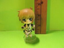 "#983 Unknown Anime Tan Hair Girl Figure 2.5""in Missing Sword ?"