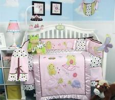 SOHO Emily The Frog  Baby Crib Nursery Bedding Set 13 pcs included Diaper Bag