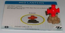 RED LANTERN s001 Brave and the Bold HeroClix special object LE