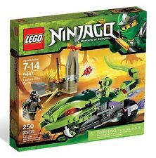 9447 LASHA'S BITE CYCLE Includes COLE lego legos set NEW ninjago NISB ninja