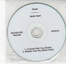 (DS647) Pearls / Berlin Heart, split single - 2011 DJ CD