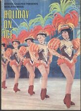 Programme Holiday On Ice Full Of Images 60's Decade