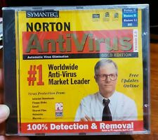 Norton AntiVirus Version 2.0 Gold Edition for Windows 95 PC CD ROM- FREE POST